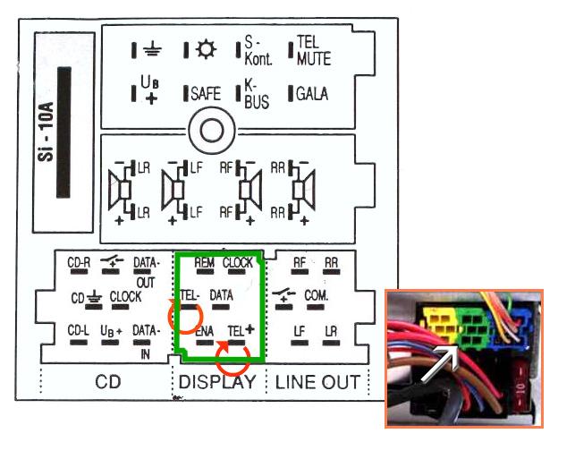 Схема подключения RCD300 RCD500 - Автозвук - Международный