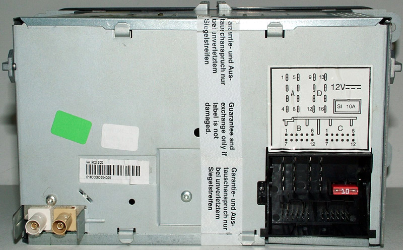 Схема подключения Rcd300 Rcd500 Автозвук Международный